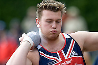 18 MAY 2008 - LOUGHBOROUGH, UK - James Stevenson - Shot - Loughborough International Athletics. (PHOTO (C) NIGEL FARROW)