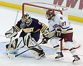 Jim Healey, Andrew Orpik - Boston College defeated Merrimack College 3-0 with Tim Filangieri's first two collegiate goals on November 26, 2005 at Kelley Rink/Conte Forum in Chestnut Hill, MA.