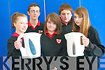 Second year students at Meanscoil Nua An Leith Truigh are preparing to showcase their Energy Awareness idea at the SEA one good ideas showcase on May 6th. .Front L-R Orna Buckley, Mary Kate Heasman and Saoirse Lynch. .Back L-R Shane Molloy and Zach Overy.