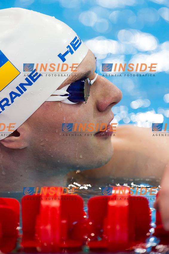 PLAVIN Bogdan UKR<br /> London, Queen Elizabeth II Olympic Park Pool <br /> LEN 2016 European Aquatics Elite Championships <br /> Swimming<br /> Men's 50m backstroke preliminary  <br /> Day 10 18-05-2016<br /> Photo Giorgio Perottino/Deepbluemedia/Insidefoto
