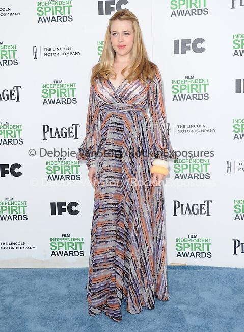Majandra Delfino<br />  attends The 2014 Film Independent Spirit Awards held at Santa Monica Beach in Santa Monica, California on March 01,2014                                                                               © 2014 Hollywood Press Agency