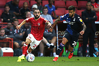 Erhun Oztumer of Charlton in action during Charlton Athletic vs Nottingham Forest, Sky Bet EFL Championship Football at The Valley on 21st August 2019