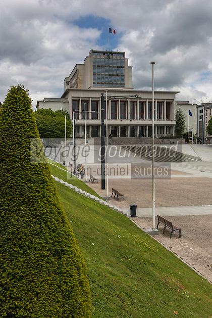 France, Bretagne, (29), Finistère, Brest:  Hôtel de ville de Brest, place de la Liberté.
