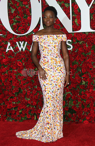 NEW YORK, NY-June 12:  Lupita Nyong'o  at the 70th Annual Tony Awards at the Beacon Theatre in New York. NY June 12, 2016. Credit:RW/MediaPunch