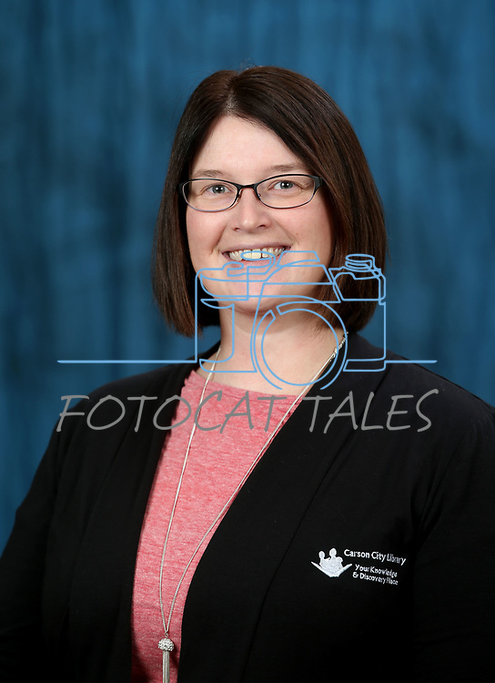 Carson City Library staff portraits in Carson City, Nev., on Wednesday, Jan. 10, 2018. <br /> Photo by Cathleen Allison/Nevada Momentum