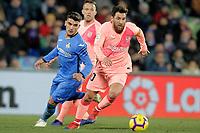 GETAFE CF v FC BARCELONA. LA LIGA 2018/2019. ROUND 18.