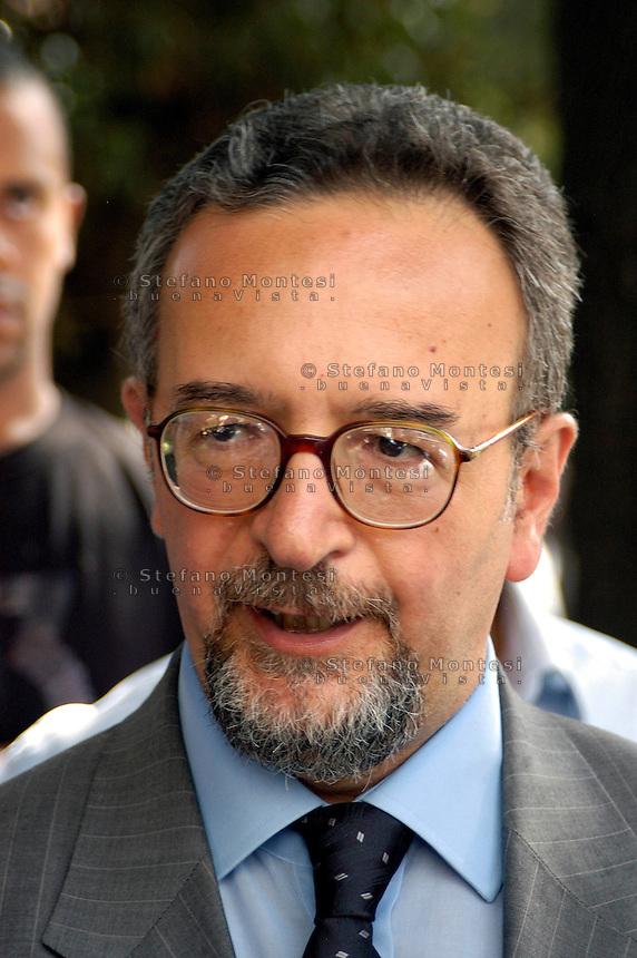 Roma 10 Settembre 2008.Angelo Malandrino Presidente delle commissione nazionale .Riconoscimento dello Status di Rifugiato