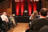 """Voll besetzter Saal bei der Premierenlesung - Premierenlesung """"Totensee"""" mit Michael Kibler, Centralstation Darmstadt"""