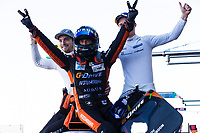 12th January 2020; The Bend Motosport Park, Tailem Bend, South Australia, Australia; Asian Le Mans, 4 Hours of the Bend, Race Day; The number 26 G Drive Racing By Algarve LMP2 driven by Roman Rusinov, James French, Leonard Hoogenboom after winning the race - Editorial Use