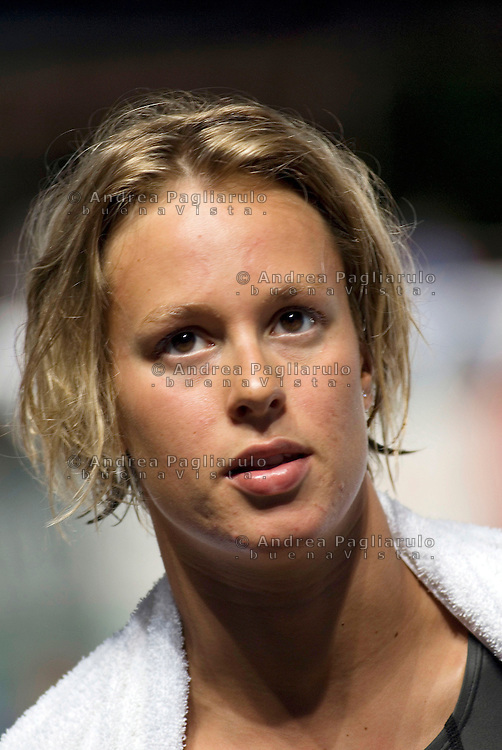 Italia, Milano,  02/07/09..Federica Pellegrini all'Harbour Swimming Cup..© Andrea Pagliarulo .#####.Italy, Milan,  02/07/09..Federica Pellegrini during the Harbour Swimming Cup..© Andrea Pagliarulo