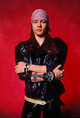 GUNS N' ROSES, AXL ROSE, 1987, WILLIAM HAMES