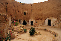 Tunisia, Matmata: cave dwellings