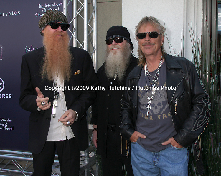 ZZTop arriving at the 7th Annual John Varvatos Stuart House Benefit at the John Varvatos Store in West Hollywood, CA  on.March 8, 2009.©2009 Kathy Hutchins / Hutchins Photo...                .