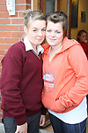 Olivia Kavanagh and Lauren Reynolds at the Open Day for Boyne Garda Youth Project...Picture Jenny Matthews/Newsfile.ie