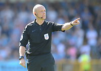 Referee Nicholas Kinseley<br /> <br /> Photographer Kevin Barnes/CameraSport<br /> <br /> The EFL Sky Bet League One - Wycombe Wanderers v Blackpool - Saturday 4th August 2018 - Adams Park - Wycombe<br /> <br /> World Copyright &copy; 2018 CameraSport. All rights reserved. 43 Linden Ave. Countesthorpe. Leicester. England. LE8 5PG - Tel: +44 (0) 116 277 4147 - admin@camerasport.com - www.camerasport.com
