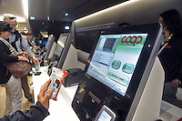 - Milano, Esposizione Mondiale Expo 2015, COOP presenta il supermercato del futuro<br />