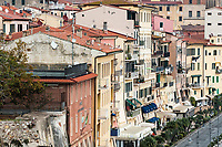 Picturesque town of Portoferraio, Elba, Italy.