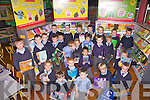 The Future is Bright - pupils from Juniors & Seniors Class at Naoimh Mhuire Boys N.S. Cahersiveen take part in the Scholastic Book Fair which is aimed at promoting reading in Primary Schools.