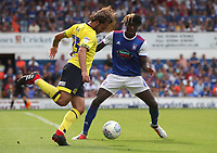 Blackburn Rovers' Bradley Dack and Ipswich Town's Trevoh Chalobah<br /> <br /> Photographer Rachel Holborn/CameraSport<br /> <br /> The EFL Sky Bet Championship - Ipswich Town v Blackburn Rovers - Saturday 4th August 2018 - Portman Road - Ipswich<br /> <br /> World Copyright &copy; 2018 CameraSport. All rights reserved. 43 Linden Ave. Countesthorpe. Leicester. England. LE8 5PG - Tel: +44 (0) 116 277 4147 - admin@camerasport.com - www.camerasport.com
