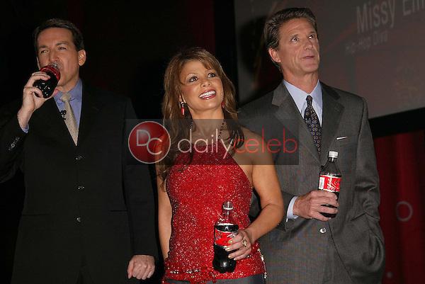 Javier Benito, Paula Abdul and Don Knauss