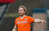 Craig Mackail-Smith of Luton Town during the Sky Bet League 2 match between Wycombe Wanderers and Luton Town at Adams Park, High Wycombe, England on 6 February 2016. Photo by Andy Rowland.