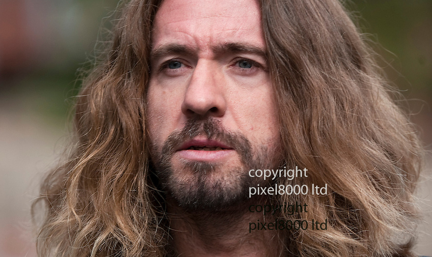 Justin Lee Collins trial today.Former girlfriend Anna Larke arrives with family -.Mother is Penny , father is Jeremy,  brother Alexis.All are due to give evidence...Pic by Gavin Rodgers/Pixel 8000 Ltd 1.10.12