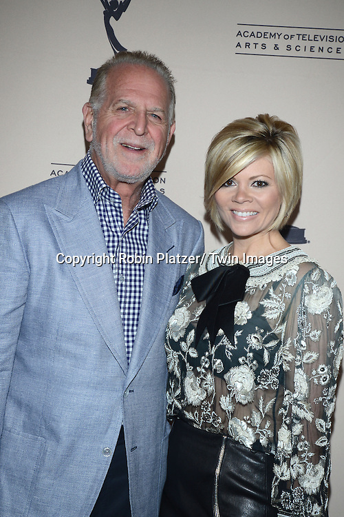 Rich Frankand wi fe Leslie Miller attends the Academy Of Television Arts & Science Daytime Programming  Peer Group Celebration for the 40th Annual Daytime Emmy Awards Nominees party on June 13, 2013 at the Montage Beverly Hills in Beverly Hills, California.