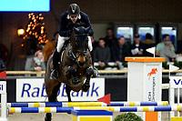 ZUIDBROEK - Paardensport, ICCH Zuidbroek, springen internationaal 1.40 klassiek, 03-01-2019, Lennard de Boer met Dento