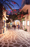Greece MykonosTown at dusk