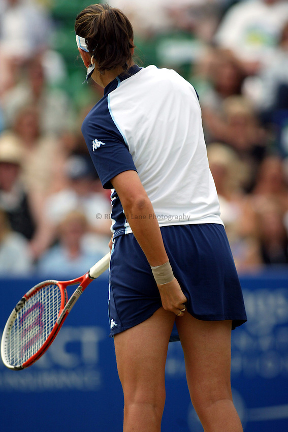 Photograph: Scott Heavey..Hastings Direct International Championships at Eastbourne. 21/06/2003..Conchita Martinez
