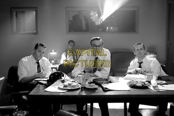 MATT ROSS, DAVID STRATHAIRN, RATE DONOVAN & REED DIAMOND.in Good Night, And Good Luck.Filmstill - Editorial Use Only.CAP/AWFF.supplied by Capital Pictures.