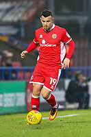 Walsall's Zeli Ismail during the Sky Bet League 1 match between Rochdale and Walsall at Spotland Stadium, Rochdale, England on 23 December 2017. Photo by Juel Miah / PRiME Media Images.