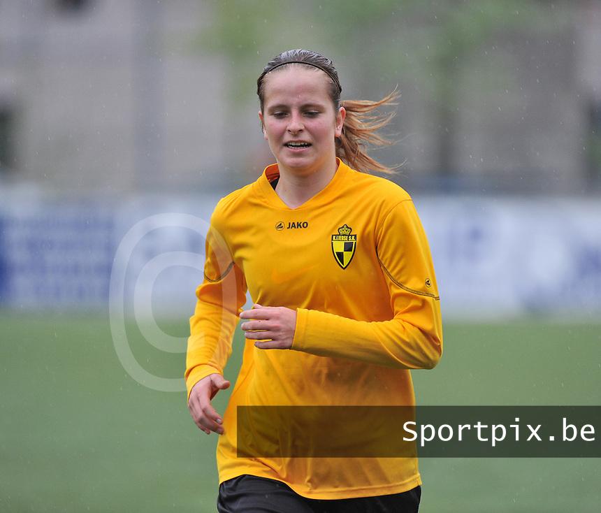 Lierse U16 - Standard de Liege U16 : Charlotte Van Ishoven.foto DAVID CATRY / Nikonpro.be