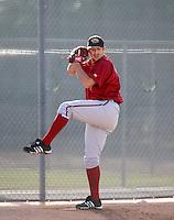 Bryan Shaw / Arizona Diamondbacks 2008 Instructional League..Photo by:  Bill Mitchell/Four Seam Images
