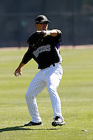 Cole Garner - Colorado Rockies - 2009 spring training.Photo by:  Bill Mitchell/Four Seam Images