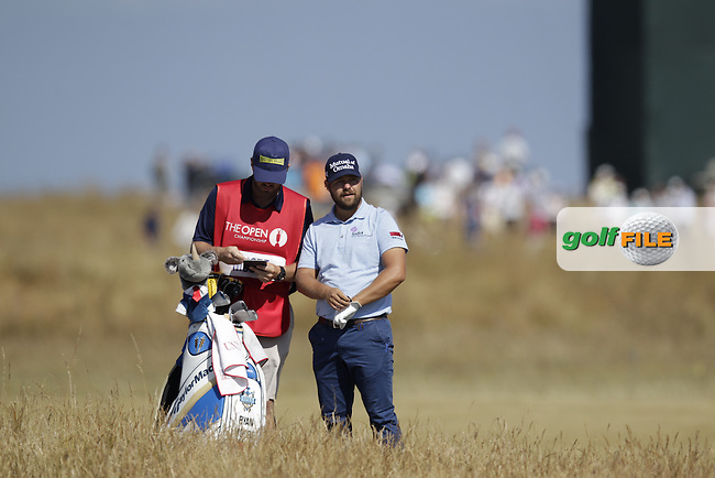 Ryan MOORE (USA) during round two of  The 142th Open Championship Muirfield, Gullane, East Lothian, Scotland 19/7/2013<br /> Picture Eoin Clarke www.golffile.ie: