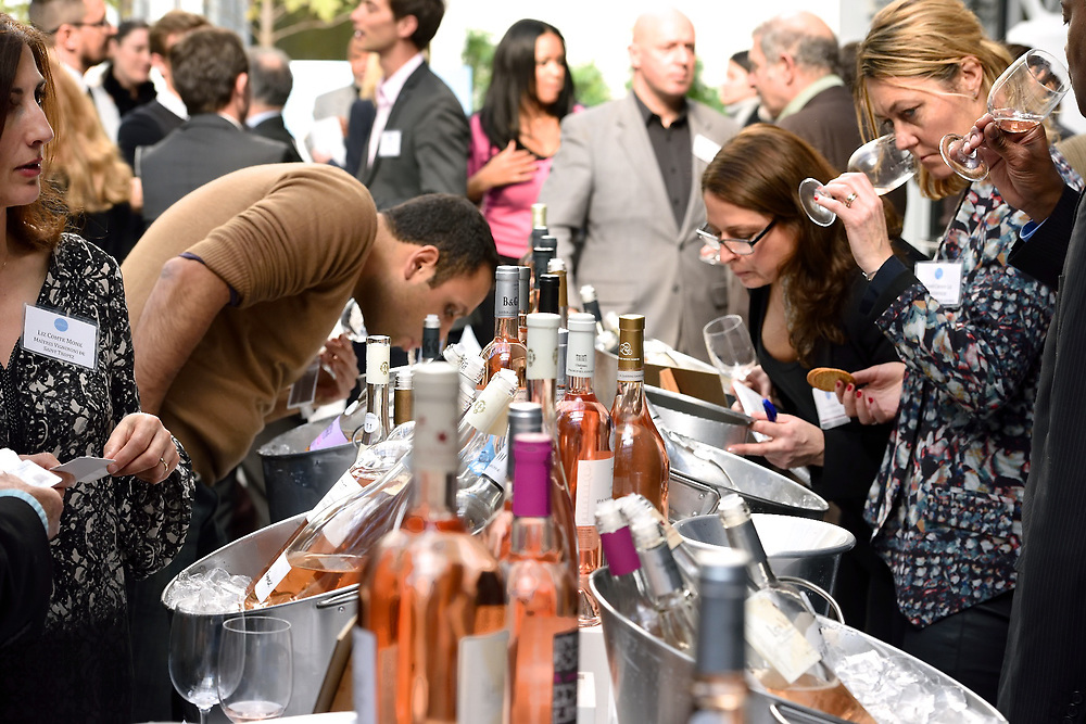 A wine tasting event for the wines of Provence.