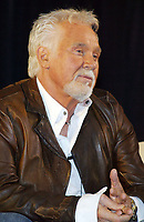 """20 March 2020 - Kenny Rogers, whose legendary music career spanned nearly six decades, has died at the age of 81. Rogers was inducted to the Country Music Hall of Fame in 2013."""" He had 24 No. 1 hits and through his career more than 50 million albums sold in the US alone. He was a six-time Country Music Awards winner and three-time Grammy Award winner. Some of his hits included """"Lady,"""" """"Lucille,"""" """"We've Got Tonight,"""" """"Islands In The Stream,"""" and """"Through the Years."""" His 1978 song """"The Gambler"""" inspired multiple TV movies, with Rogers as the main character. File Photo: 16 February 2006 - Nashville, Tennessee - Kenny Rogers. WSIX-FM, Nashville's Gerry House hosted a conversation with legendary star Kenny Rogers. Photo Credit: Randi Radcliff/AdMedia"""