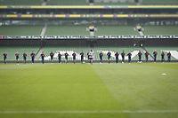 Dublin, Ireland - June 1, 2018: The USMNT trains at Aviva Stadium before an international friendly against Ireland.
