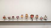 London, England. 14 October 2014. Artworks from the Anton Kern Gallery.  Frieze Art Fair 2014 opens in Regent's Park, London. Photo: Bettina Strenske