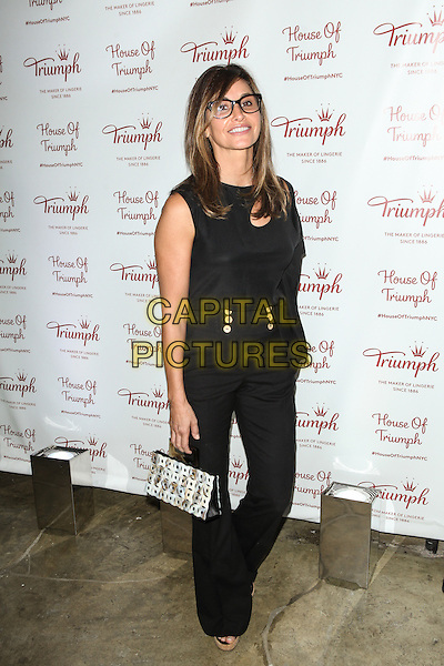 NEW YORK, NY -  AUGUST 28: Gina Gershon attends Triumph Lingerie's Magic Wire Launch Event at The Old Bowery Station on August 28, 2014 in New York City.  <br /> CAP/MPI/COR99<br /> &copy;COR99/MPI/Capital Pictures