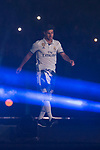 Real Madrid Marco Asensio during the celebration of the 13th UEFA Championship at Santiago Bernabeu Stadium in Madrid, June 04, 2017. Spain.<br /> (ALTERPHOTOS/BorjaB.Hojas)