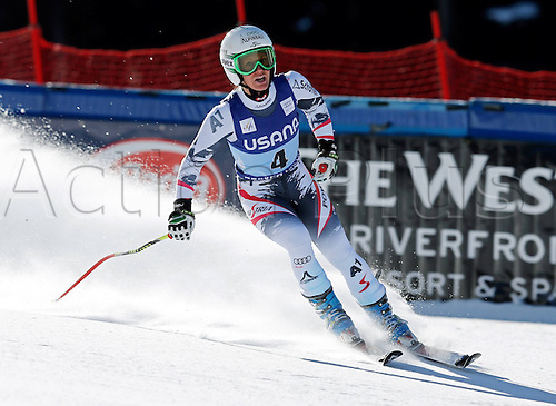 30.11.2013. Beaver Creek, Colorado, USA. Womens Super G downhill skiing world cup. Stefanie Koehle (AUT).