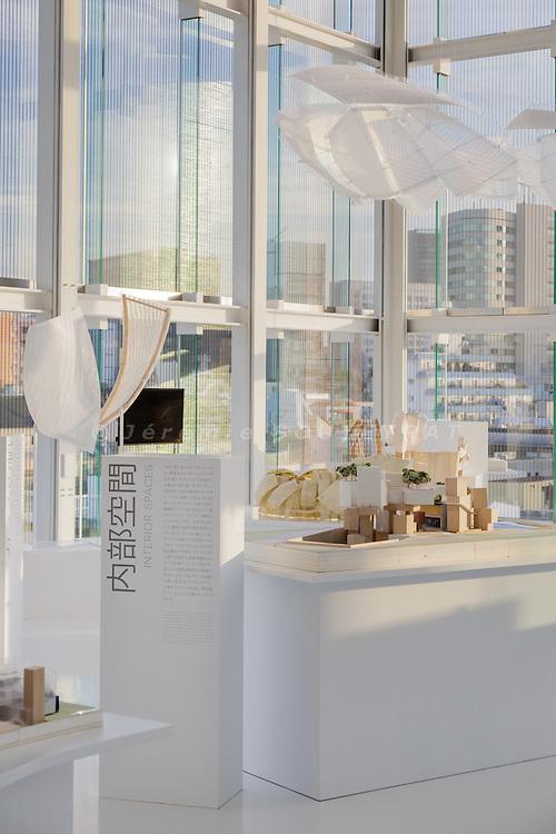 "Tokyo, October 2015 - ""Fondation Louis Vuitton, Building in Paris by Frank Gehry"" exhibition at L'Espace Louis Vuitton Tokyo."