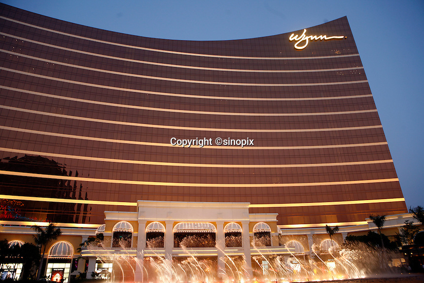 The Wynn Casino in Macau.<br /> May 08, 2007
