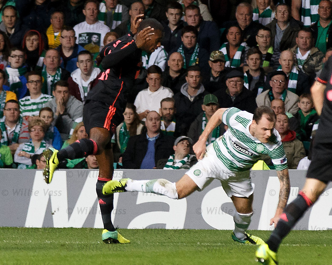 Anthony Stokes brought down for penalty