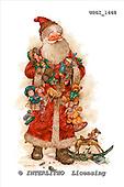 GIORDANO, CHRISTMAS SANTA, SNOWMAN, WEIHNACHTSMÄNNER, SCHNEEMÄNNER, PAPÁ NOEL, MUÑECOS DE NIEVE, nostalgic, paintings+++++,USGI1468,#X# nostalgic,vintage