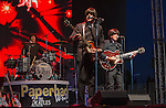 Paperback Riders Beatles tribute band performs during Hot August Nights at the Grand Sierra Resort on Tuesday, August 2, 2016.