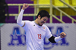 Kenya Kasahara (JPN), <br /> AUGUST 17, 2018 - Handball : Men's Preliminary Round match between <br /> Korea 26-26 Japan at GOR Popki Cibubur during the 2018 Jakarta Palembang Asian Games in Jakarta, Indonesia. <br /> (Photo by MATSUO.K/AFLO SPORT)