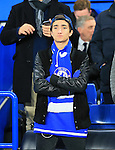 Chelsea manager Jose Mourinho's son Jose Junior looks on <br /> <br /> UEFA Champions League - Chelsea v FC Porto - Stamford Bridge - England - 9th December 2015 - Picture David Klein/Sportimage